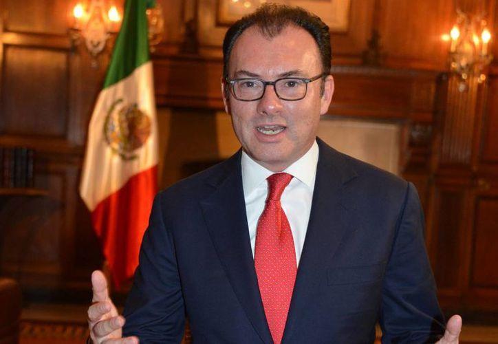 El secretario de Hacienda, Luis Videgaray, dijo que el ajuste no afecta las áreas de seguridad, ni los programas de la Secretaría de Desarrollo Social. (Archivo/Notimex)