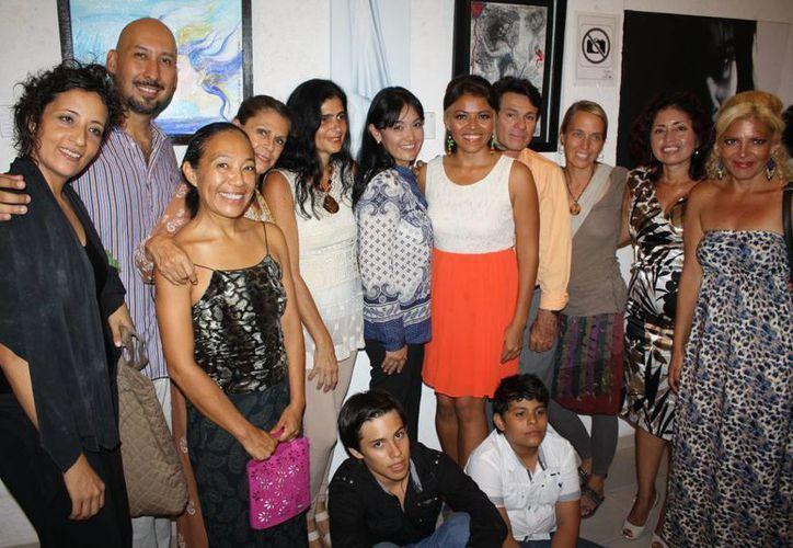 """La exposición """"Entre nosotras"""" reunió a cerca de 30 artistas de todo el país.  (Redacción/SIPSE)"""