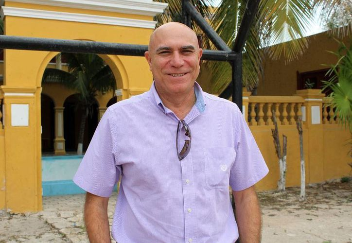 Manuel Sánchez, presidente de la Unión de Armadores de Progreso. (Milenio Novedades)