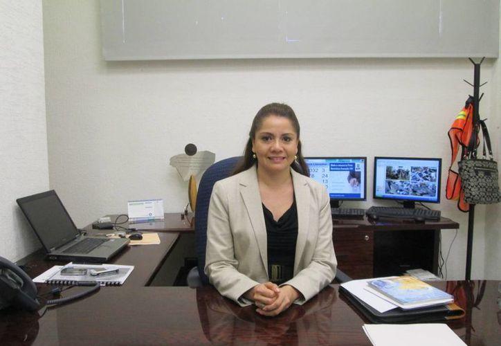 Leticia Martínez Medina, funcionaria del SAT, dijo que en Yucatán solo cumplen el 31 por ciento de los contribuyentes. (SIPSE)
