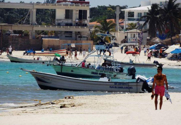 La ocupación hotelera en Playa del Carmen va a la alza desde principios de noviembre, por lo que se prevé que para finales de mes el repunte en la demanda de cuartos de hotel sea todavía mayor. (Daniel Pacheco/SIPSE)