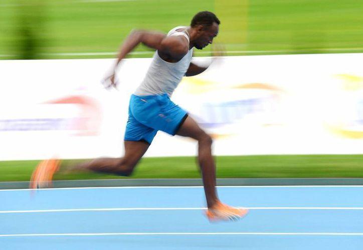 Usain Bolt aspira a superar sus propias marcas esta temporada. (EFE)