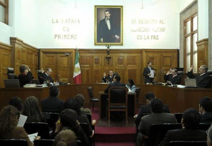 La SCJJN anuló reformas a códigos penales de tres estados. (Notimex/Archivo)