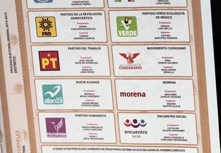 A lo largo de la historia democrática del país han sido creados 22 partidos políticos. (Notimex)