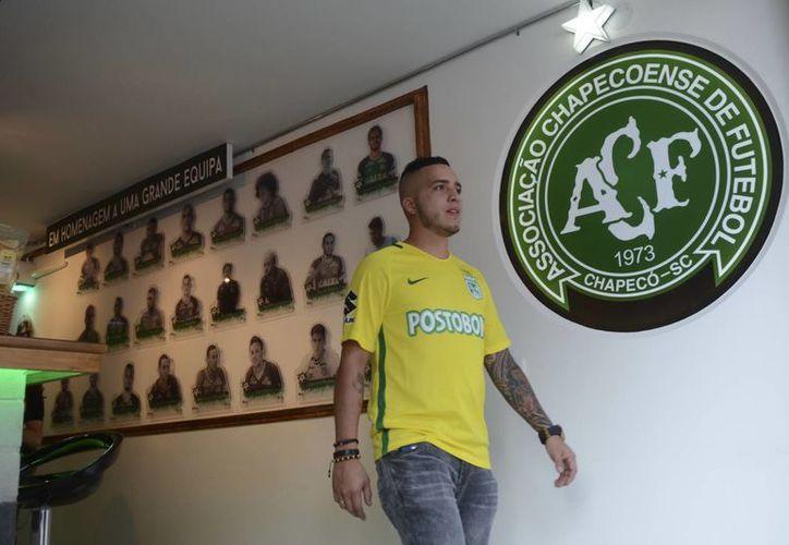 El Chapecoense Bar está situado a los alrededores del estadio del Atlético Nacional, en Medellín. (Imágenes/ AP)
