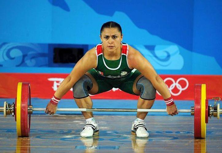 El 15 de agosto de 2008, Damaris terminó en el sexto puesto al levantar 245 kilogramos. (Foto: Gaceta Mexicana)