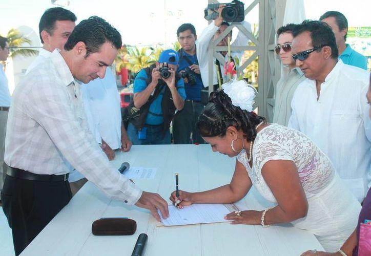 El 14 de febrero se celebrará el programa de Bodas Colectivas en Cozumel. (Cortesía)