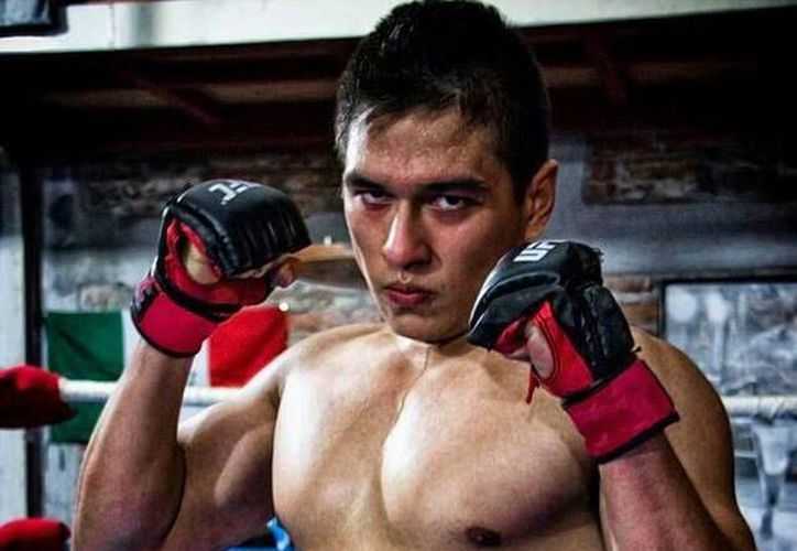 Un día antes de desaparecer, Octavio peleó en Veracruz, ya que practica muay thai. (facebook.com/octaviobaruch)