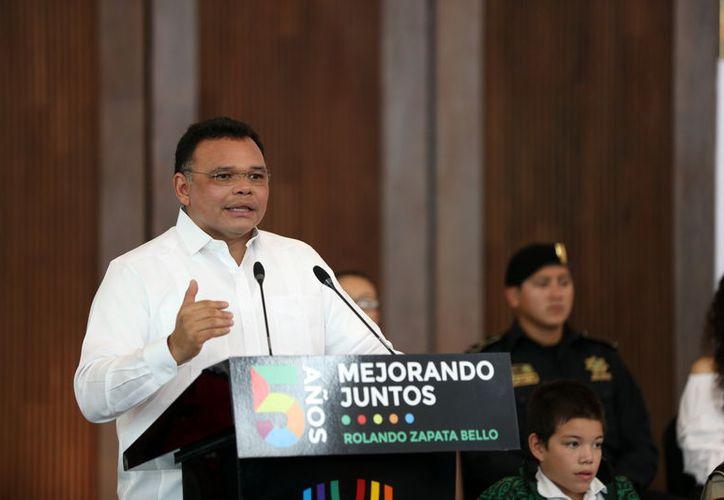 Rolando Zapata Bello dará un mensaje por las redes sociales.  (Foto: Milenio Novedades)