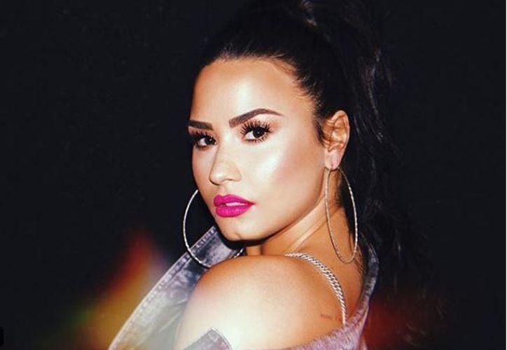 El video de 'Sober' de Demi Lovato, fue lanzado ayer en Youtube.  (Instagram)