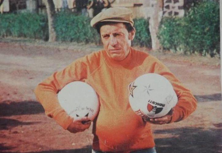 Roberto Gómez Bolaños en una escena de El Chanfle, película de 1979.