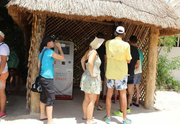 En Cobá no se han instalado estos equipos, en parte por la limitante del internet. (Sara Cauich/SIPSE)