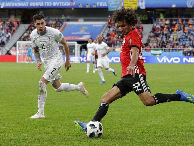 Uruguay tendrá que mejorar mucho su juego para figurar entre los candidatos. (AP)