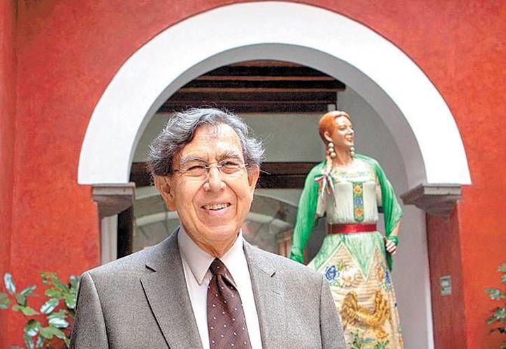 El ingeniero impartió una conferencia sobre reforma energética. (Andrés Lobato/Milenio)