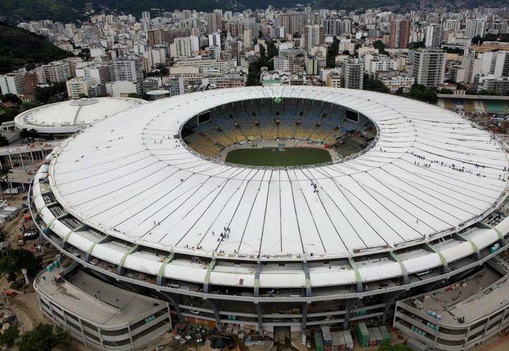 Aspecto general del reformado estadio Maracaná, en Río de Janeiro. (EFE/Archivo)