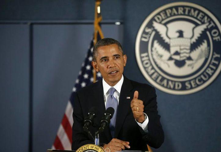 """Obama dijo que """"no vamos a negociar bajo la amenaza de dañar más nuestra economía"""". (Agencias)"""