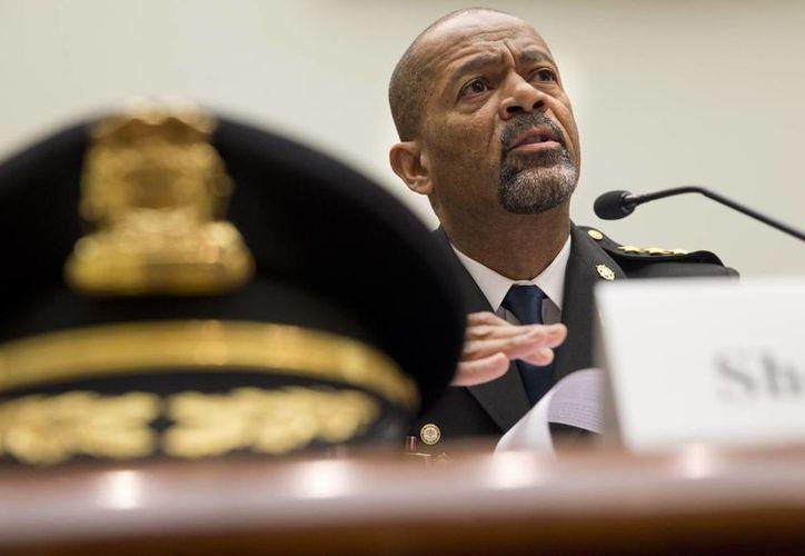 David A. Clarke Jr., jefe de policía del condado de Milwaukee, Wisconsin, dijo que los afroestadounidenses tienen más encuentros con la policía que los blancos. (Agencias)