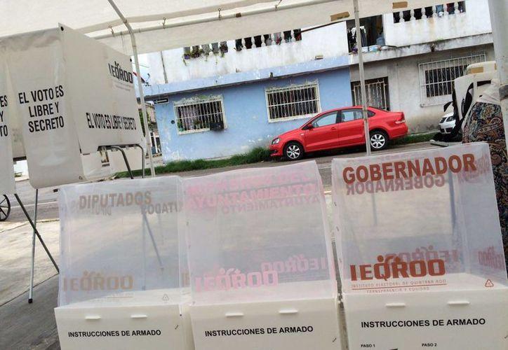 Varias casillas reportan demoras en Playa del Carmen. (Redacción/SIPSE)