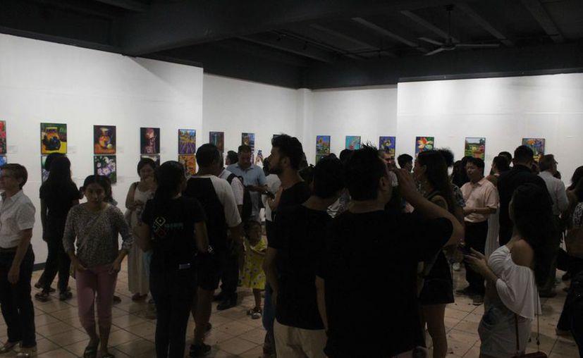 La exposición colectiva podrá apreciarse en el recinto cultural. (Faride Cetina/SIPSE)