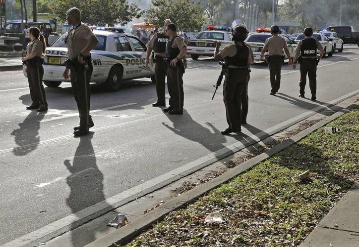 Las personas lesionadas por un tiroteo en el parque Martin Luther King Jr. tienen entre 11 y 30 años de edad. Uno de ellas está en condición crítica. (AP/Carl Juste)
