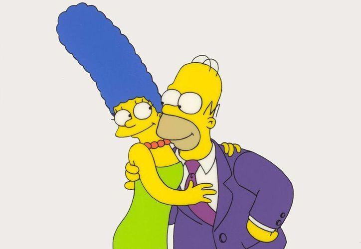 Mac hará una línea de cosméticos inspirada en Marge Simpson. (TheSimpsons)