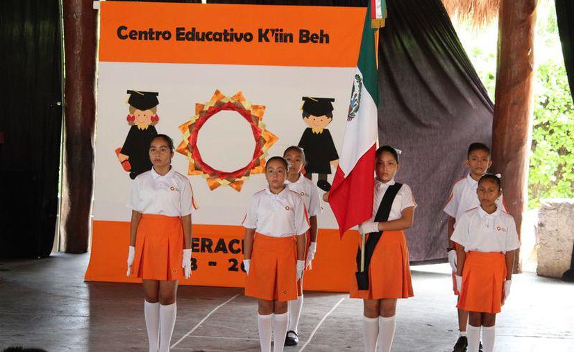 El proyecto K'iin Beh tendrá 450 estudiantes de jardín de niños y primaria durante el próximo curso escolar.  (Adrián Barreto/SIPSE)