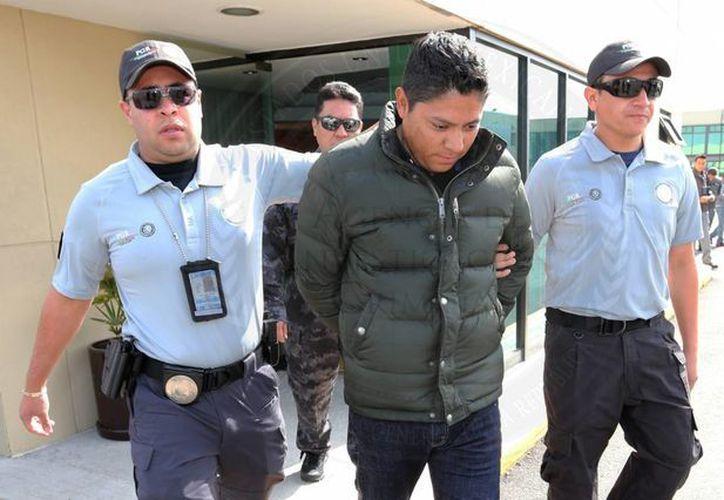 El alcalde de Soledad de Graciano Sánchez, José Ricardo Gallardo Cardona, fue internado en el penal federal de Hermosillo, Sonora. (Notimex)