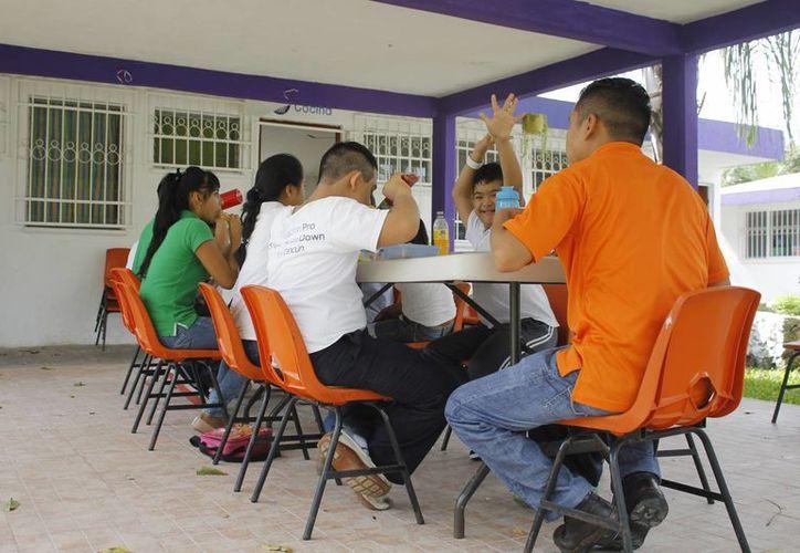 Las instalaciones de la fundación se ubican en la calle 103 de la Región 94. (Yajahira Valtierra/SIPSE)