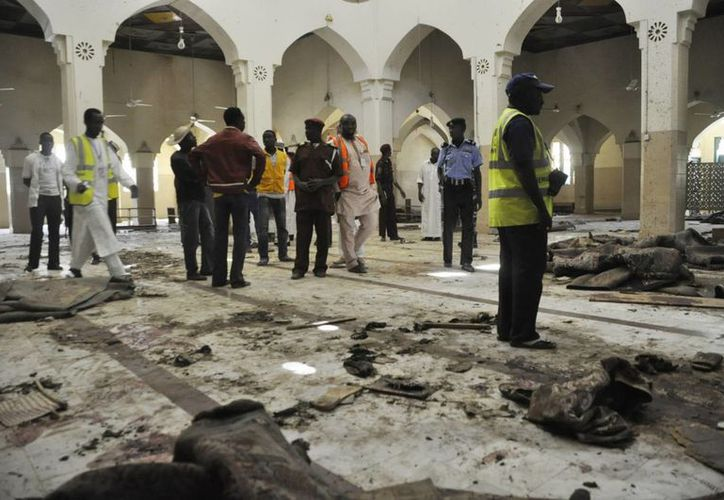 Imagen de un ataque suicida, el pasado 29 de noviembre, en una mezquita provocada por los extremistas de Boko Haram, en Nigeria. (Archivo/AP)