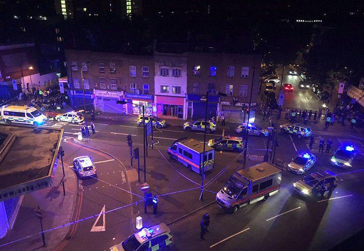 Una furgoneta atropelló a varias personas que salían de una mezquita en Londres. (islingtongazette.co.uk)