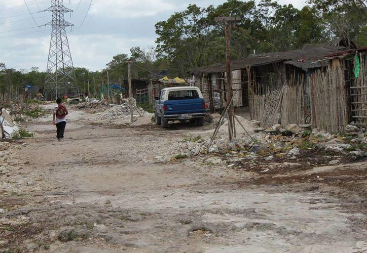 De acuerdo con un conteo reciente, debajo de las torres de la CFE actualmente viven 2 mil familias.  (Daniel Pacheco/SIPSE)