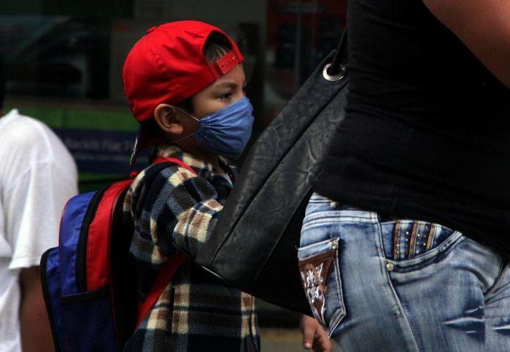 Los niños son un sector muy vulnerable durante la época invernal. (Milenio Novedades)