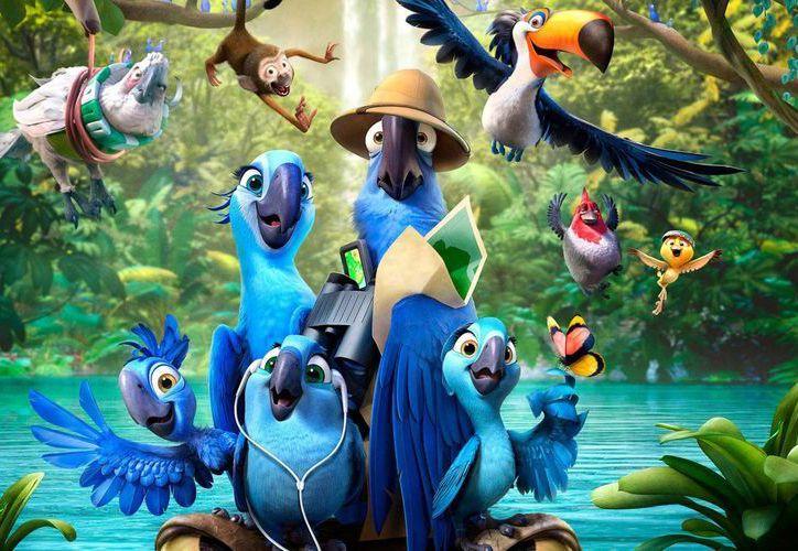 Río retrató la vida silvestre y los paradisíacos lugares de Río de Janeiro. (moviesofhollywood.com)