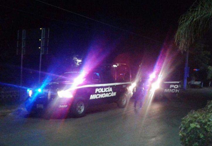 La Policía de Michoacán desplegó un operativo para capturar a los asesinos del subdirector policíaco. (@MICHOACANSSP)