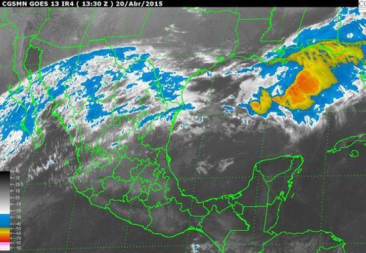 El SMN expuso que en las últimas 24 horas se sintió la temperatura máxima en Mérida, Yucatán, con 40 grados centígrados y la mínima en La Rosilla, Durango, con menos cinco grados. (smn.cna.gob.mx)