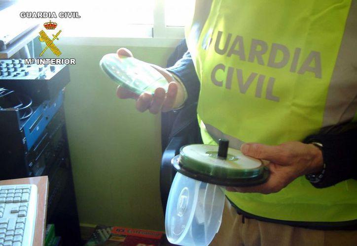 La autoridad incautó gran cantidad de material pederasta. (interior.gob.es)