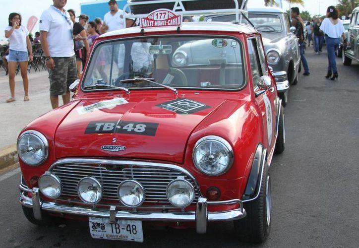 El año pasado fueron 108 vehículos participantes. (Foto: Contexto/SIPSE)