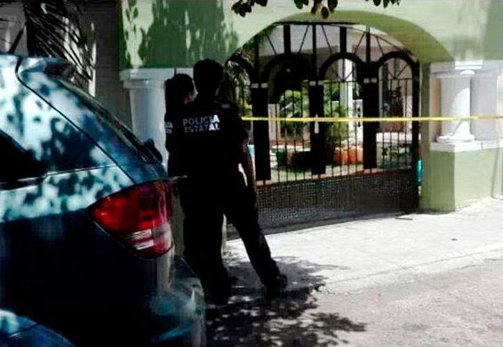 Fachada de la empresa, ubicada en la colonia Plantel México, de la que asaltantes se llevaron 140 mil pesos. (Milenio Novedades)