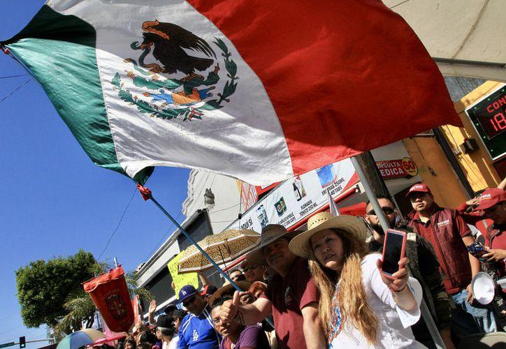 Desde Tijuana, AMLO ofrecerá un mensaje conciliador. (Notimex)