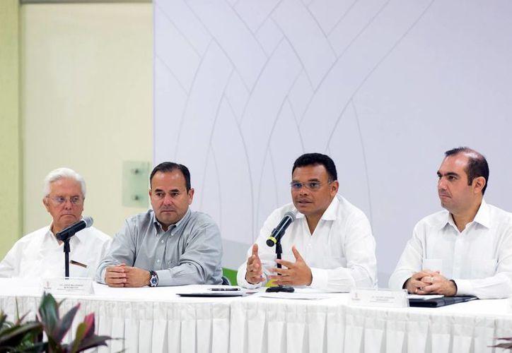 El gobernador Rolando Zapata estará este miércoles en Hunucmá. (SIPSE)