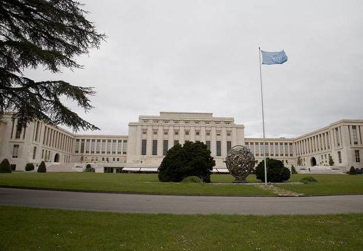 El siniestro se produjo cerca del edificio (en la foto) sede de la ONU en Ginebra. (icndiario.com)