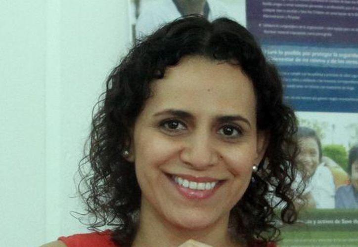 La directora de Save the Children Yucatán, Adriana Aguilar Huerta, indicó que el esquema consiste en implementar planes escolares para detectar riesgos y vulnerabilidades en caso de fenómenos naturales. (Milenio Novedades)