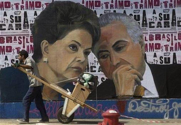 Se espera que el juicio político contra la presidenta Dilma Rousseff quede definido entre los días 10 y 11 de mayo. (AP)