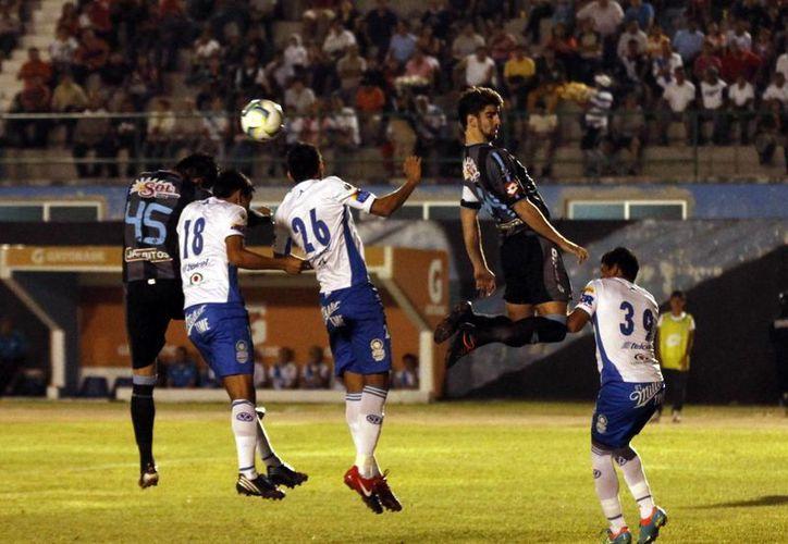 El CF Mérida está fallando a la hora de anotar. (SIPSE)