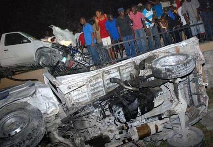 Los accidentes de tráfico en Haití suelen ocurrir con frecuencia. (bdnews24.com)