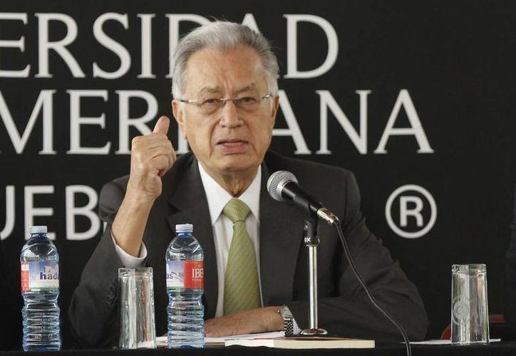 Bartlett (foto) argumenta que las acusaciones de Lozano no son válidas porque se dieron en el contexto de la campaña electoral. (Notimex/Foto de archivo)