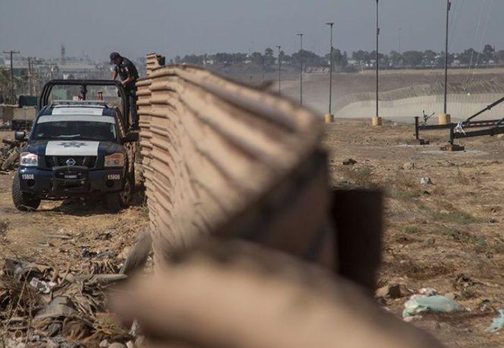 Cinco connacionales indocumentados fueron puestos a salvo por  la Patrulla Fronteriza. (Foto: Excélsior)