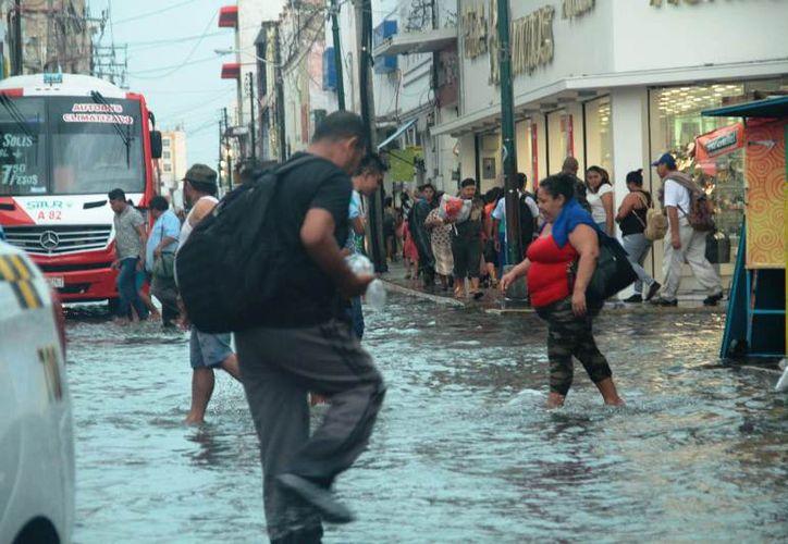 Se pronostica chubascos con tormentas puntuales fuertes en el centro, sur y noreste de Yucatán. (Jorge Acosta)