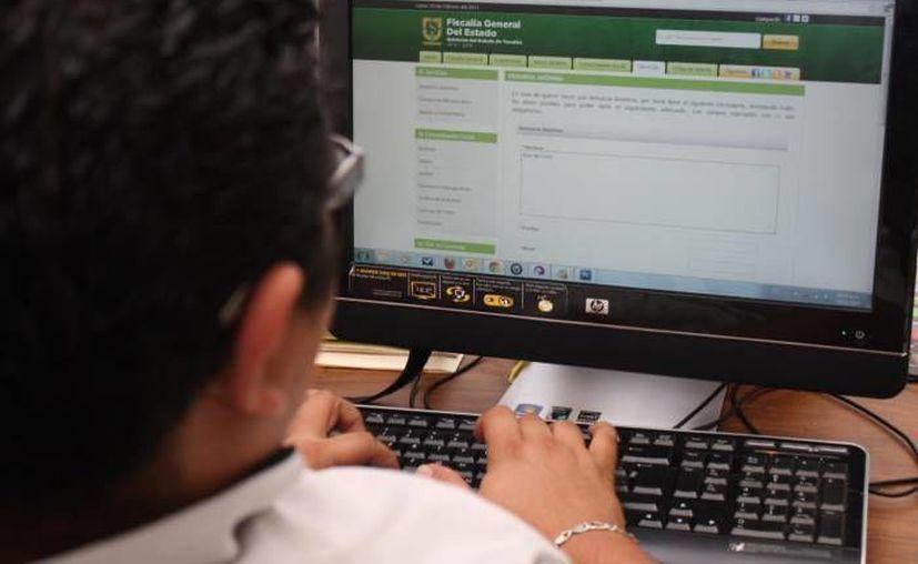 La Fiscalía de Yucatán modernizó su portal electrónico de denuncias telefónicas. (SIPSE/Archivo)