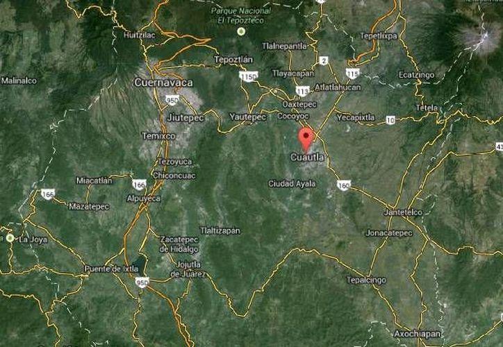 El hallazgo de narcofosas en Morelos obedece a investigaciones e interrogatorios recientes a delincuentes. (Google Maps)